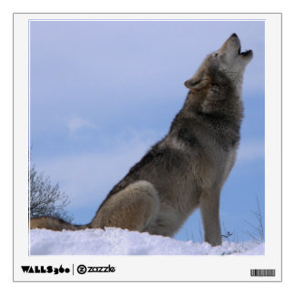 Alaskan Timber Wolf Wall Sticker