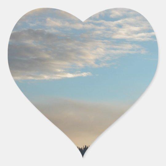 alaskan views 4 heart sticker