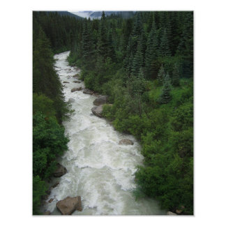 Alaskan Waterfall 11x14 Photographic Print