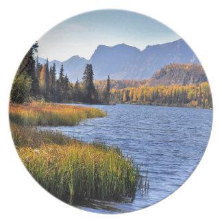 Alaskan Wilderness Dinner Plate