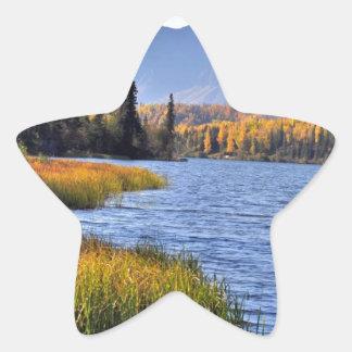 Alaskan Wilderness Star Sticker