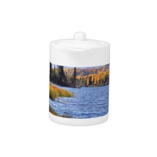 Alaskan Wilderness Teapot at Zazzle