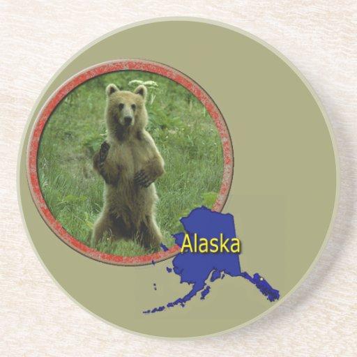 Alaskan Wildlife Beverage Coasters