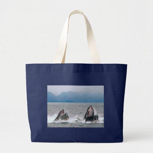 Alaskan Wildlife Jumbo Tote Bag