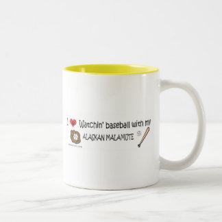 ALASKANMALAMUTE Two-Tone COFFEE MUG