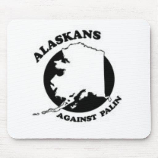 Alaskans against Palin Mouse Pad
