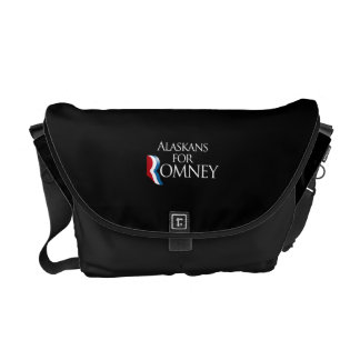 Alaskans for Romney -.png Commuter Bags
