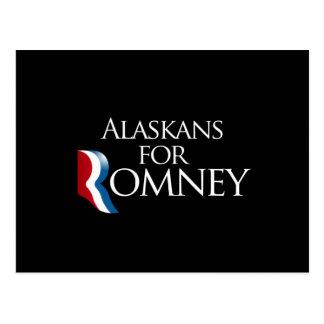 Alaskans for Romney -.png Postcard