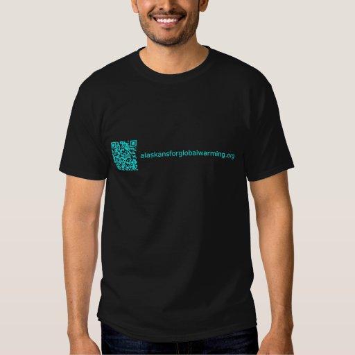 Alaskans para el calentamiento del planeta camisas