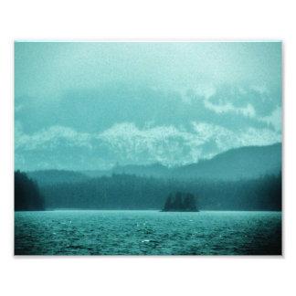 Alaska's Beautiful Blues Photo Print