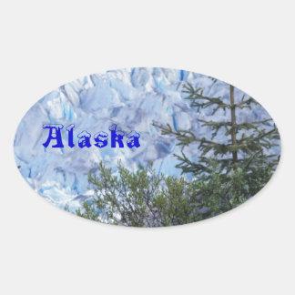 Alaska's Beauty Oval Sticker