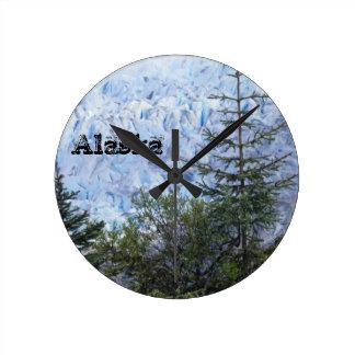 Alaska's Beauty Round Clock