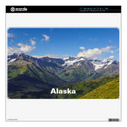 Alaska's Chugach Mountain Range Skin For MacBook Air