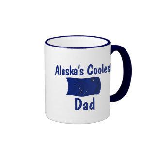 Alaska's Coolest Dad Ringer Mug
