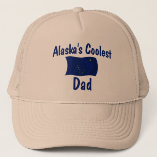 Alaska's Coolest Dad Trucker Hat