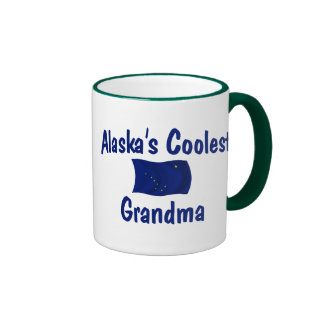 Alaska's Coolest Grandma Ringer Mug
