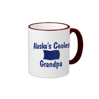 Alaska's Coolest Grandpa Ringer Mug