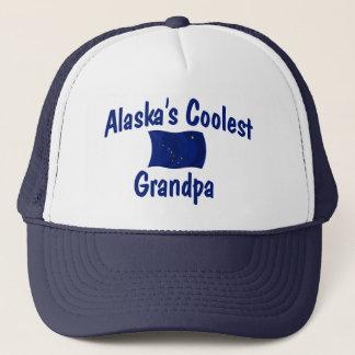 Alaska's Coolest Grandpa Trucker Hat