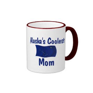 Alaska's Coolest Mom Ringer Mug