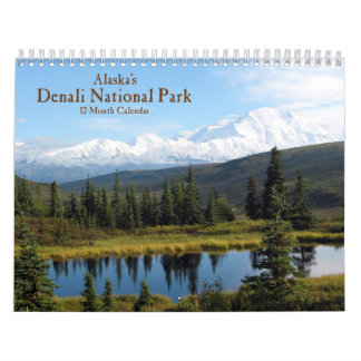 Alaska's Denali National Park Calendar
