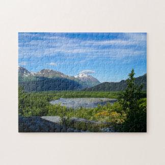 Alaska's Exit Glacier Valley Jigsaw Puzzle
