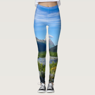 Alaska's Exit Glacier Valley Leggings