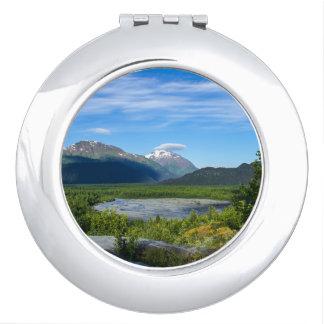 Alaska's Exit Glacier Valley Makeup Mirror