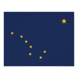 Alaska's Flag 4.25x5.5 Paper Invitation Card