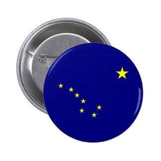 Alaska's Flag Pinback Button