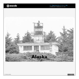 Alaska's Guard Island Light Skin For MacBook