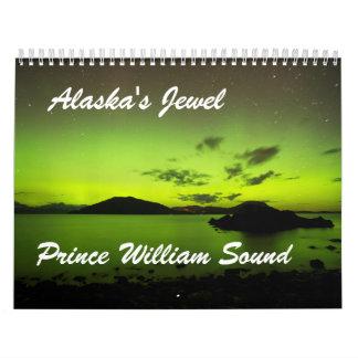 Alaska's Jewel Prince William Sound Wall Calendar