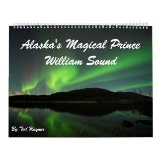 Alaska's Magical Prince William Sound Calendar