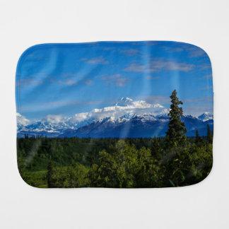 Alaska's Mt. McKinley Baby Burp Cloth