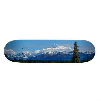 Alaska's Mt. McKinley Skateboard