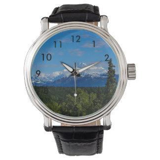 Alaska's Mt. McKinley Wrist Watches