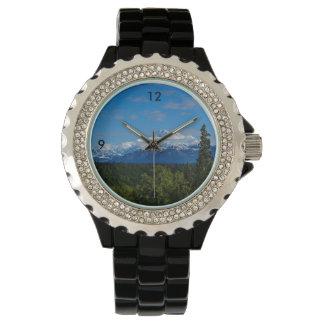 Alaska's Mt. McKinley Wristwatch