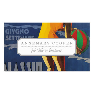 Alassio, Italy Business Card