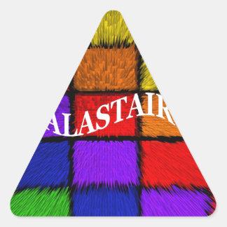 ALASTAIR TRIANGLE STICKER