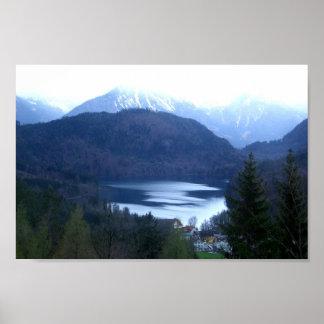 Alat Lake, Fussen  Poster