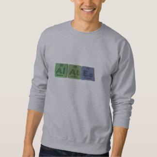 Alates-Al-At-Es-Aluminium-Astatine-Einsteinium Sweatshirt