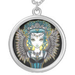 """Alaura"" Gothic Angel Necklace"