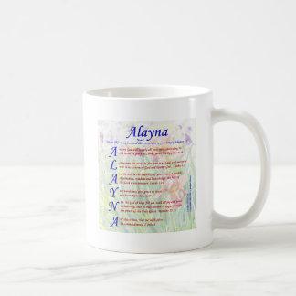 Alayna Acrositc Coffee Mug