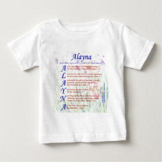 Alayna Acrositc Playera Para Bebé