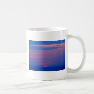 Alba al mar a Adriático, Italia, Taza De Café