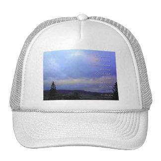 Alba de junio del rezo de la serenidad gorras de camionero