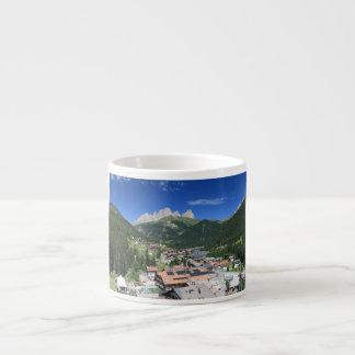 Alba di Canazei, Trentino, Italia Taza Espresso