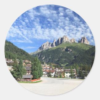 Alba di Canazei, Trentino, Italy Classic Round Sticker