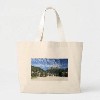 Alba di Canazei, Trentino, Italy Jumbo Tote Bag