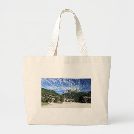 Alba di Canazei, Trentino, Italy Large Tote Bag