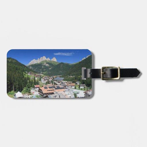 Alba di Canazei, Trentino, Italy Tag For Luggage
